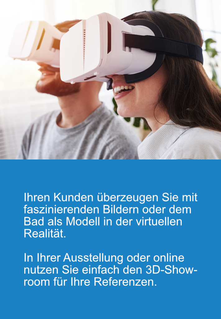 Badplanung mit Virtual-Reality für alle